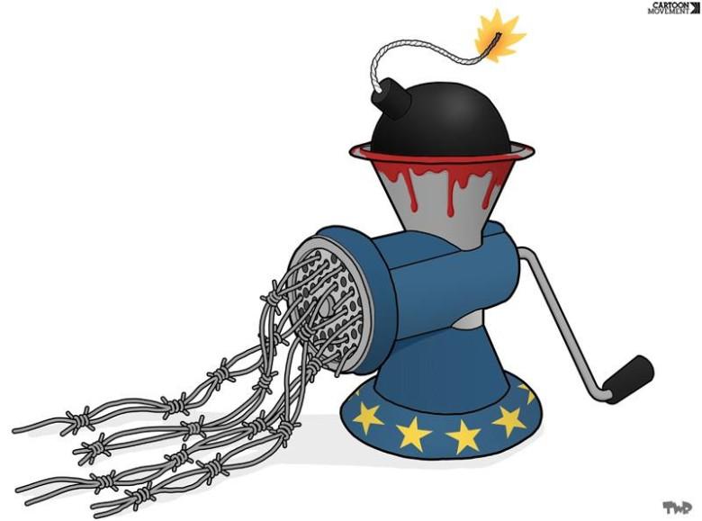 Σκίτσο: Tjeerd Royaards