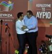 Τσίπρας-Καμμένος-Πανηγυρισμοί-εκλογών